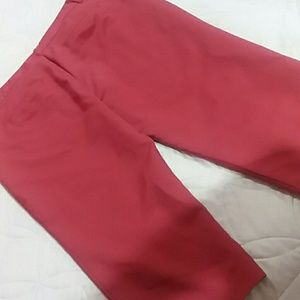 Maurices Pants - Rust red capris